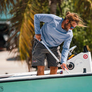 Pro Am Regatta Short by RailRiders | Dockside Gray