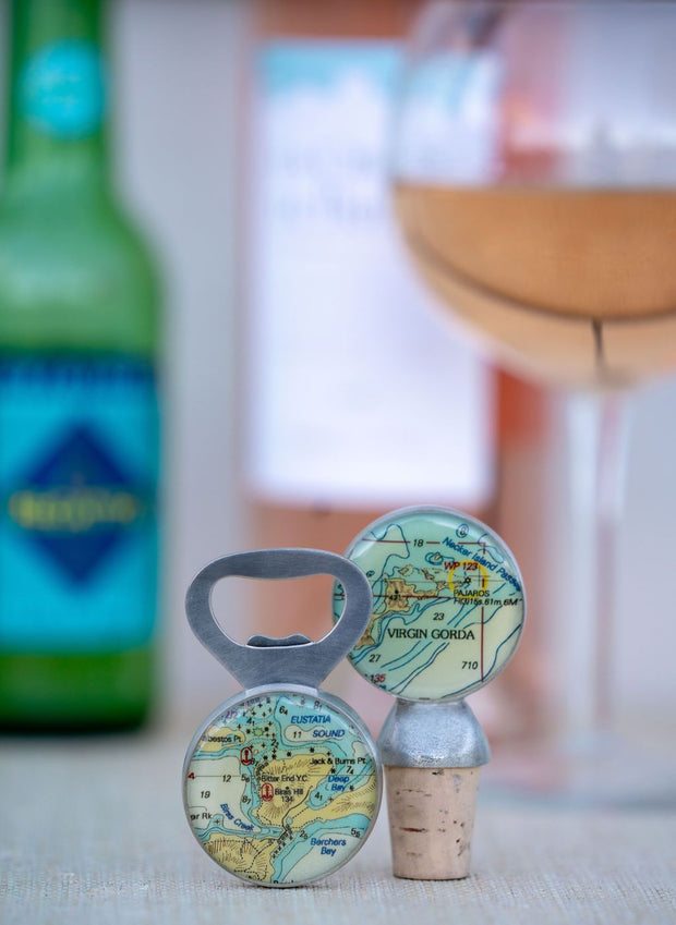 bottle opener from a sailing shop
