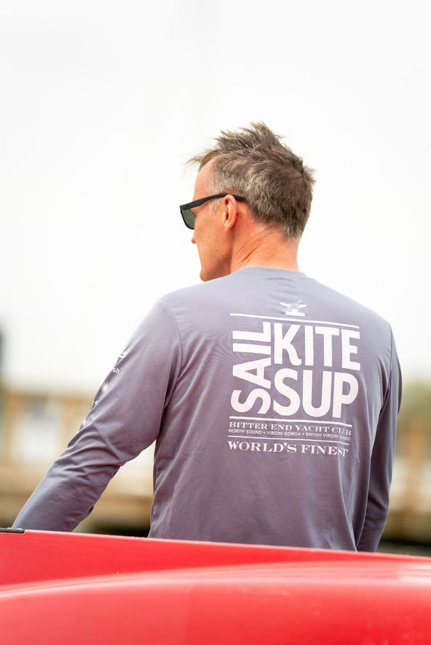 Men's Sail.Kite.SUP. Dri-Tek | Granite-Tops-Bitter End Provisions