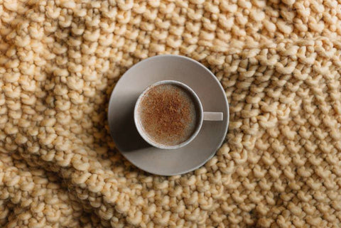 Coffee Cup and Blanket