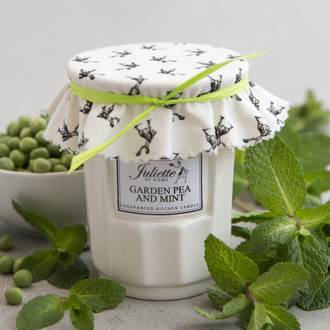 Pea and Mint Candle