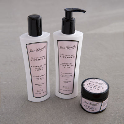 The Classic Three Step Regime - Cleanse, Tone, Moisturise