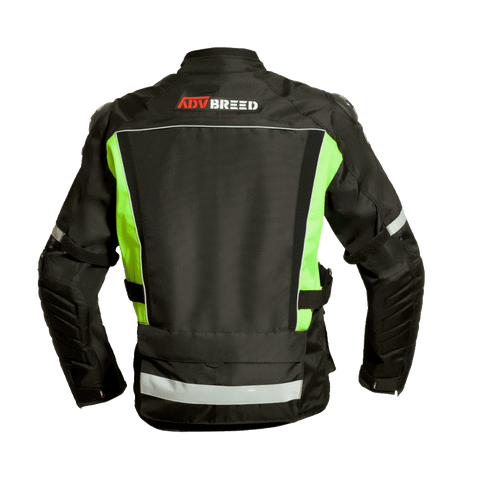 TBG WANDERER - Mesh Riding Jacket Black/Fluro