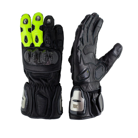 TBG SPORT v2 Riding Gloves - Black/Fluro