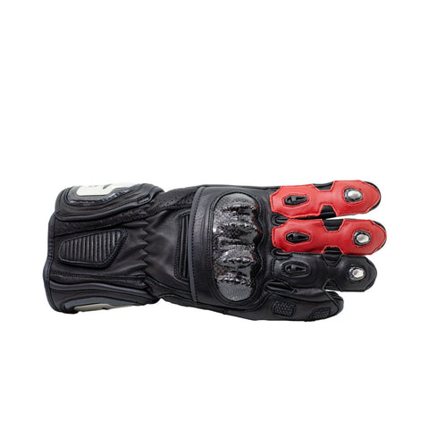 TBG SPORT v2 Riding Gloves - Black/Red