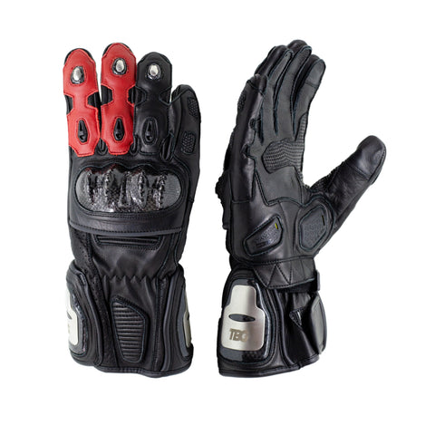 TBG SPORT v2 Gloves - Black/Red