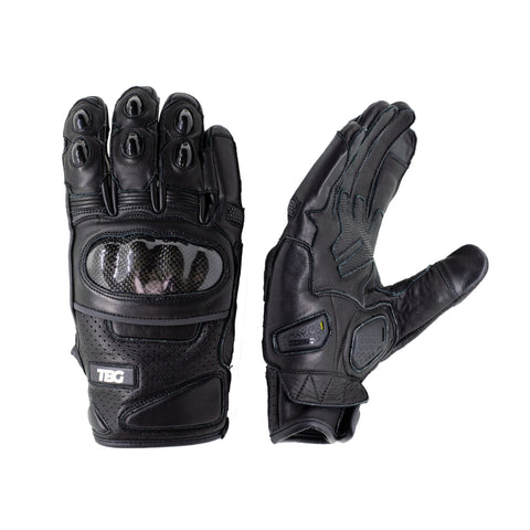 TBG STREET v2 Riding Gloves - Black
