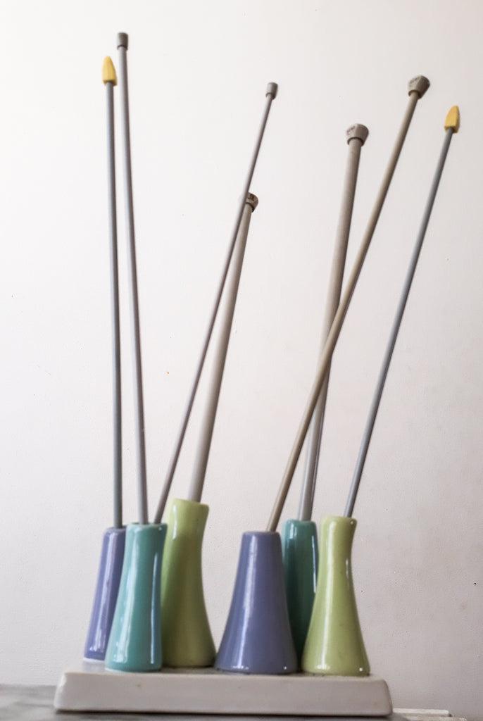 metal knitting needles, chose right knitting needles, straight knitting needles