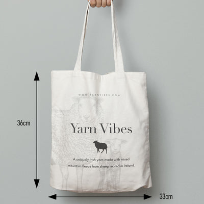 Yarn Vibes Canvas Tote Bag