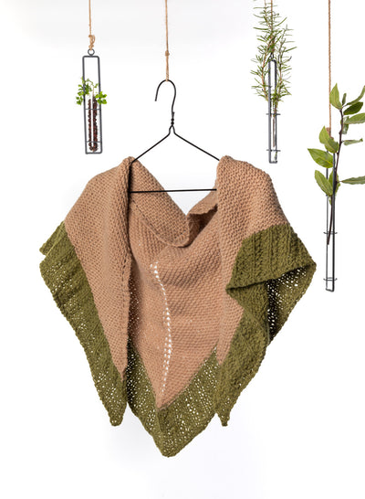 Ashlyn Triangle Shawl Knitting Kit