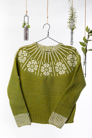 Dervla Colorwork Sweater Pattern
