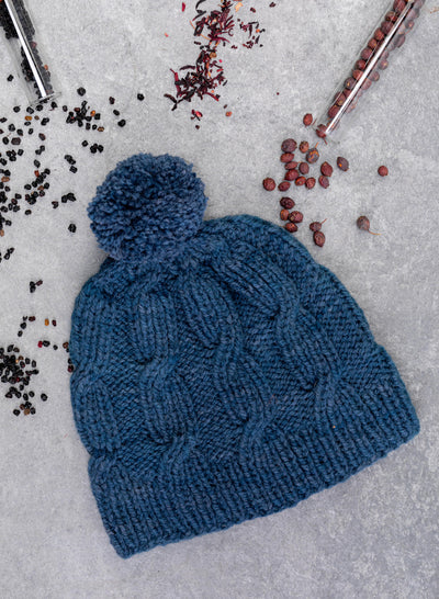 Riley Aran Hat Knitting Kit