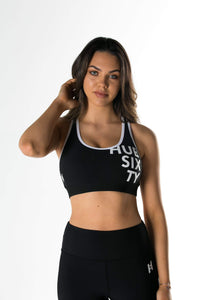 The Black Sports Bra