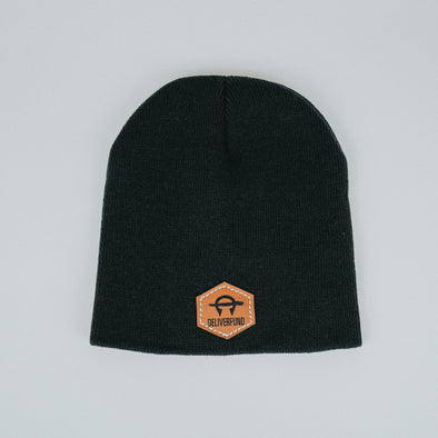 DeliverFund Knit Beanie - Black