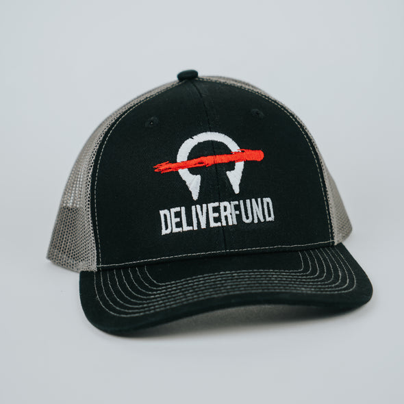 DeliverFund Embroidered Snapback Trucker Cap