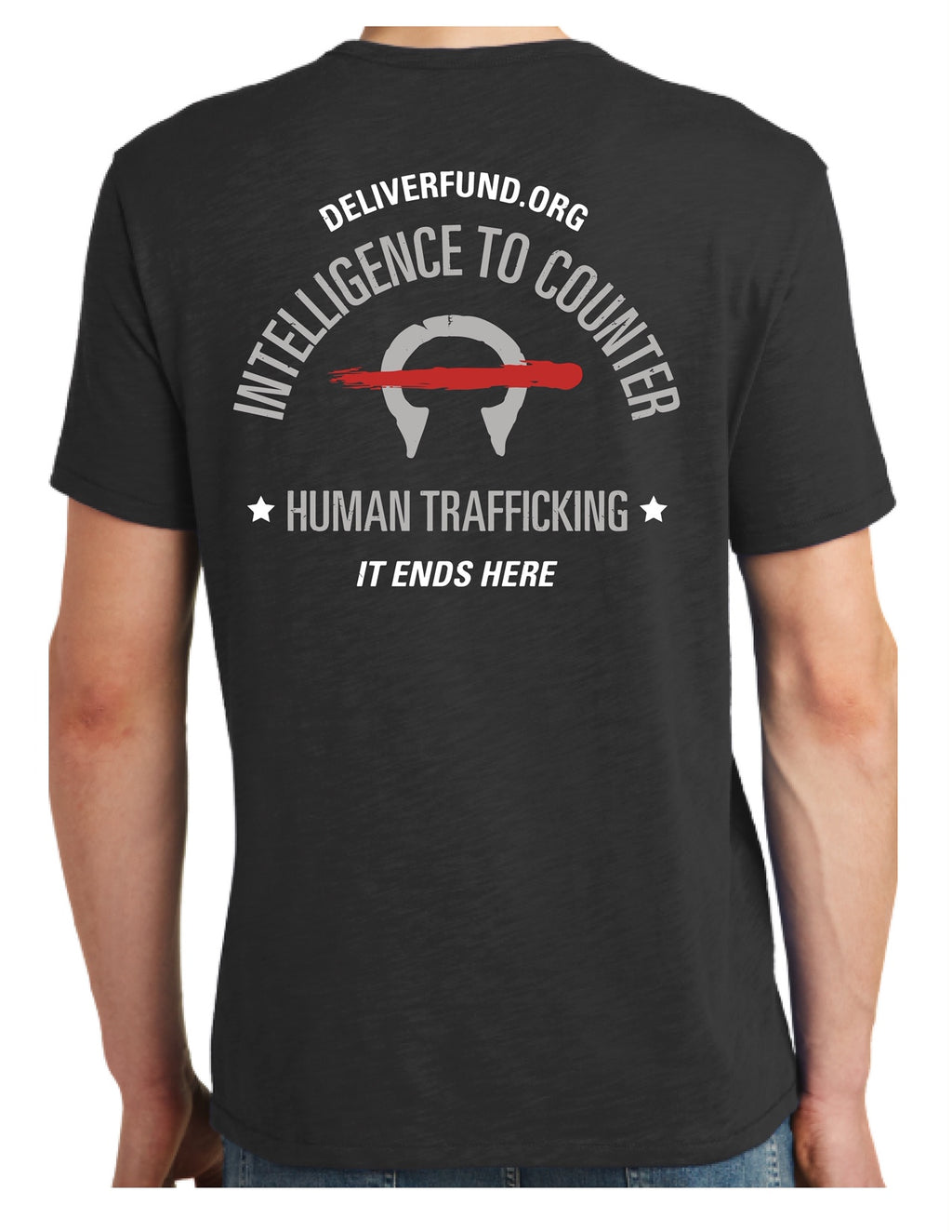 Men's Intelligence to Counter Human Trafficking T-Shirt