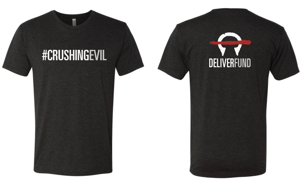 Men's #CrushingEvil T-Shirt