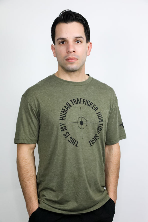 Men's This is my Human Trafficking Hunting Shirt T-Shirt