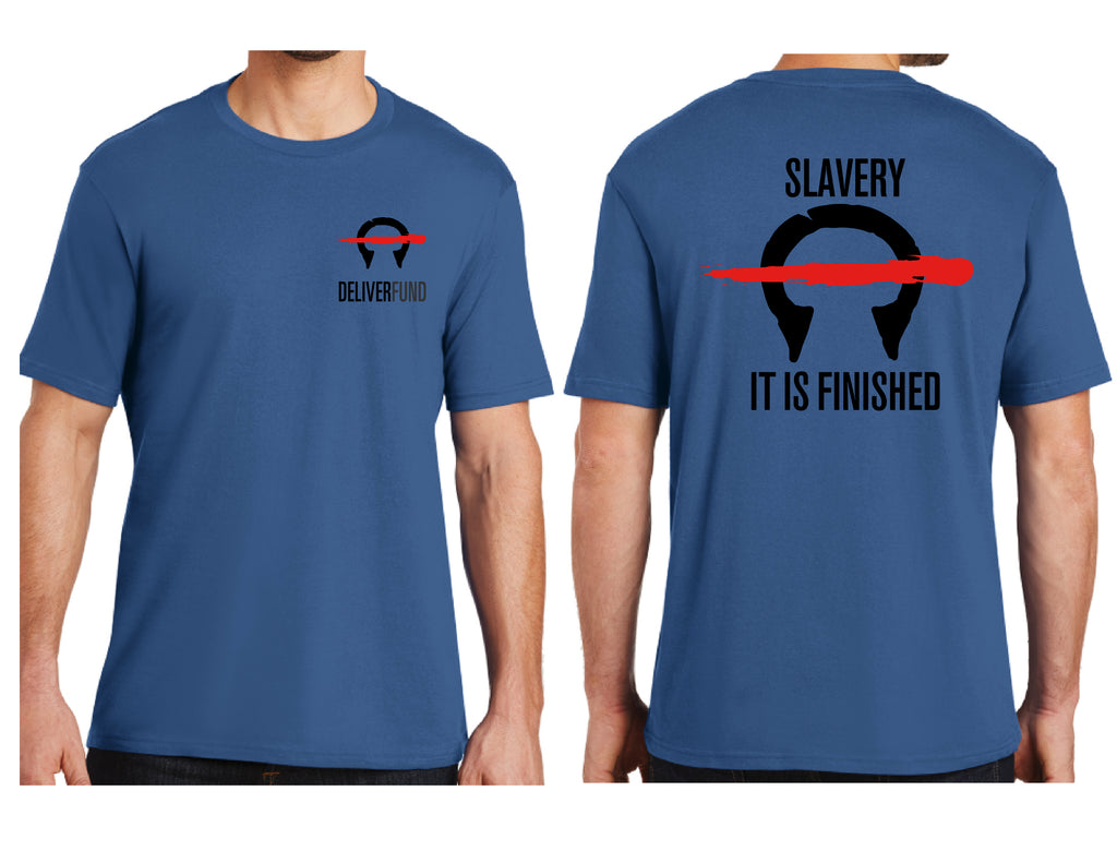Men's Slavery-It is Finished T-Shirt *Last Chance!  No longer in print!*