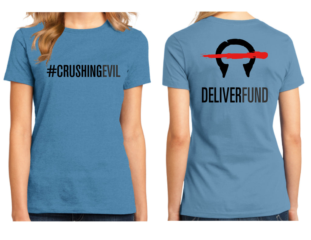 Women's #CrushingEvil T-Shirt