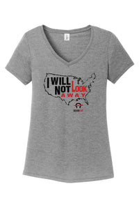 Women's I Will Not Look Away *Last Chance!  No Longer in Print!*