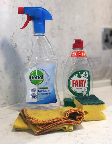 Tips & Tricks for Cleaning Kitchen Work Surfaces