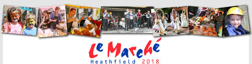 Heathfield Le Marche' Bank Holiday Monday 27th August 2018