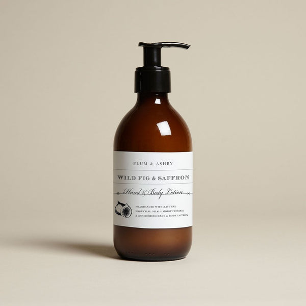Wild Fig & Saffron Hand & Body Lotion