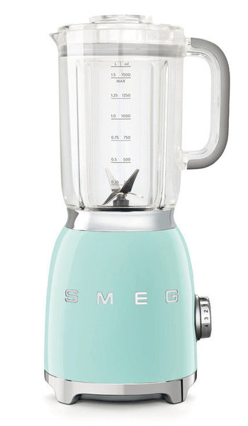 Smeg BLF01 50s Retro Style Food Blender, Pastel Green