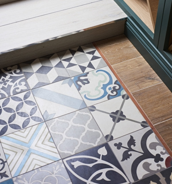 Patchwork Multicolour Tile