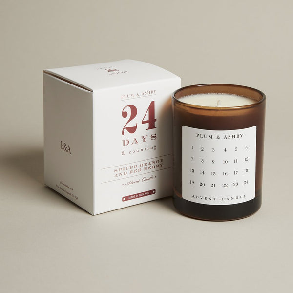 Advent Candle - Spiced Orange and Red Berry
