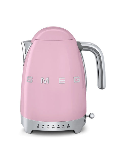 Smeg Variable Temperature Kettle Pink KLF04PKUK