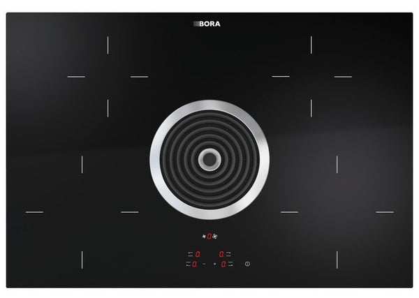 BHA - BORA Basic Hyper-glass-ceramic-cooktop with cooktop extractor – exhaust
