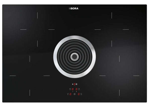 BIA - BORA Basic induction-glass-ceramic-cooktop with cooktop extractor - exhaust