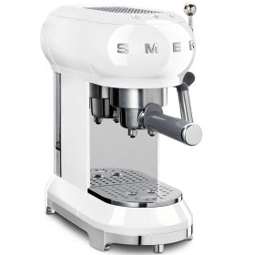 Smeg ECF01 Coffee Machine, White