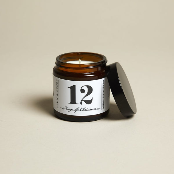 12 Days of Christmas Scented Candle