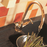 Minoan Sink Mixer with Crosshead Handles