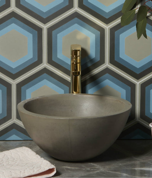 Paris Handmade Cement Basin