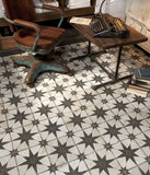 Spitalfields Retro Star Pattern