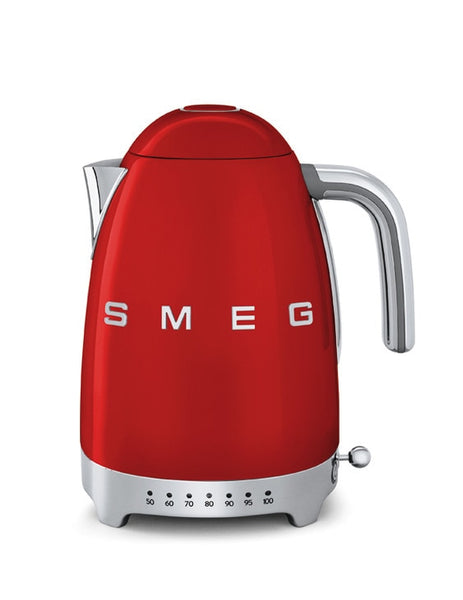 Smeg Variable Temperature Kettle Red KLF04RDUK