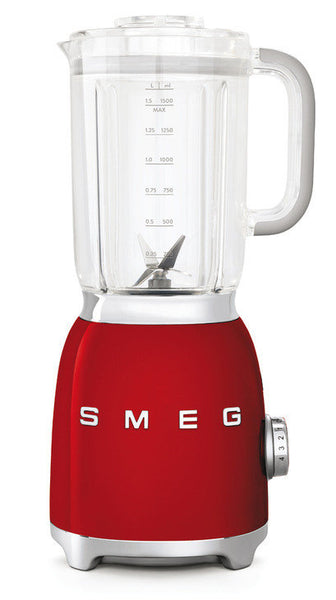 Smeg BLF01 50s Retro Style Food Blender, Red