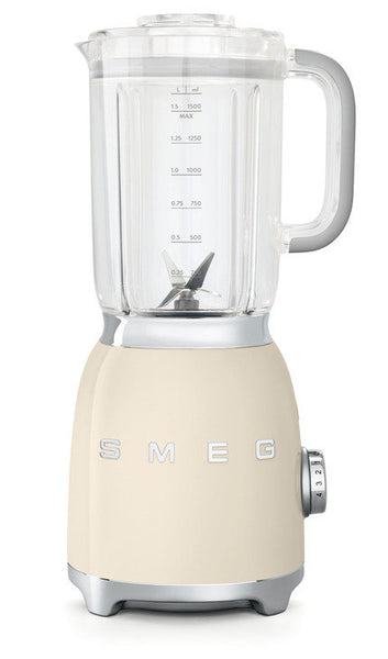 Smeg BLF01 50s Retro Style Food Blender, Cream