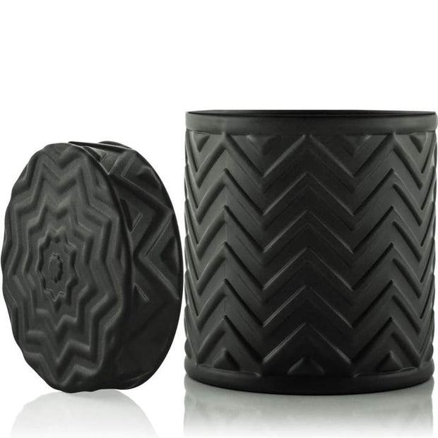 Chevron - Black - 18 oz-Flickerwix