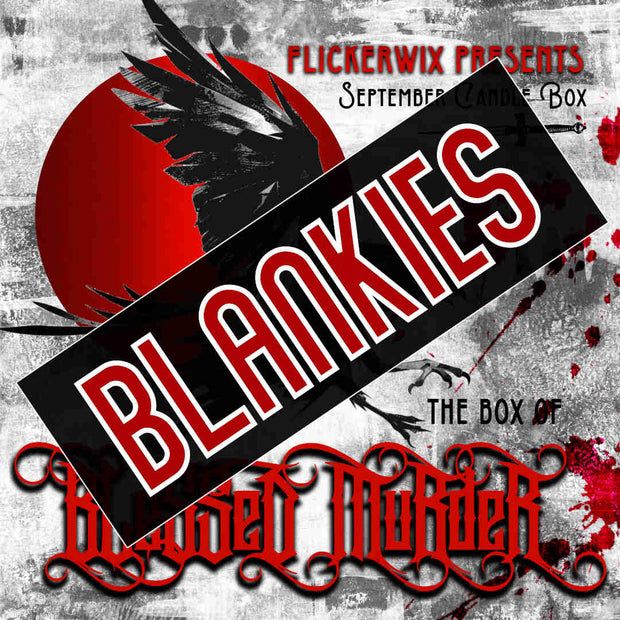 Invoiced Nevernight Blankie Addon for Blessed Murder Box-Merchandise-Flickerwix