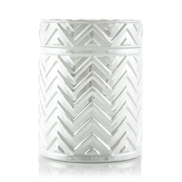 Chevron - Pearl White - 18 oz-Flickerwix