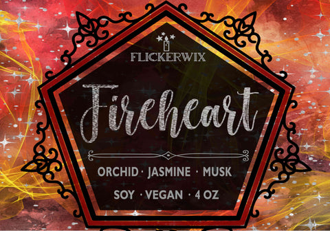 Fireheart (Throne of Glass)-Flickerwix