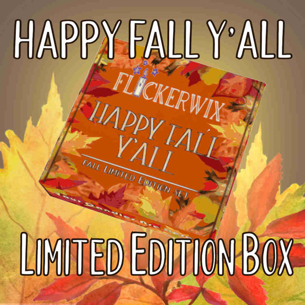 Happy Fall, Y'All - Limited Edition Sampler Box-Flickerwix