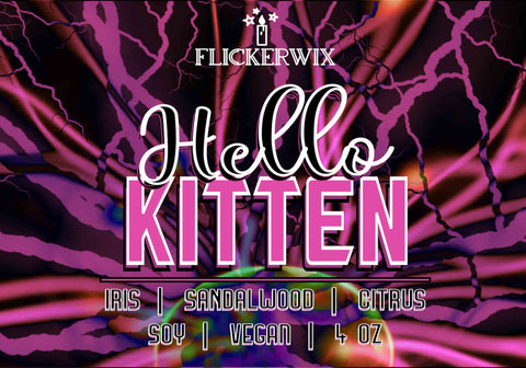 Hello, Kitten (Lux Series)-Flickerwix