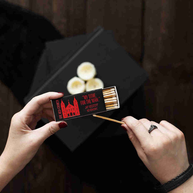 Red Church Matches - Nevernight Inspired-Merchandise-Flickerwix