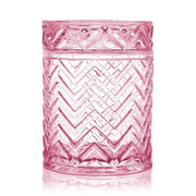 Chevron - Misty Rose - 18 oz-Flickerwix